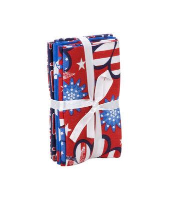 Quilters Cotton Bundle-Patriotic Prints