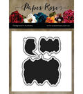 Paper Rose 3 pk Metal Dies-Snugglepot, Cuddlepie & Raggedy Blossom