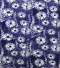 Knit Prints Rayon Spandex Fabric-Navy Spinners Tie Dye