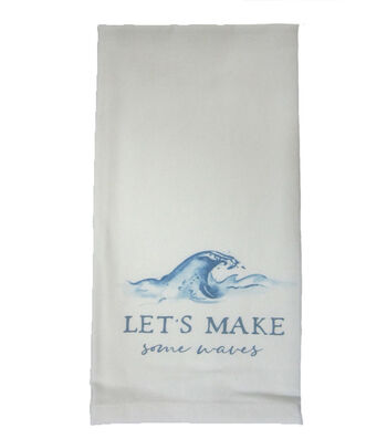 Indigo Mist Make Some Waves Towel