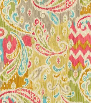"Waverly Lightweight Decor Fabric 54""-Splash Of Color/Golden"