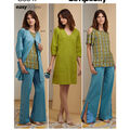 Simplicity Pattern S8847 Misses\u0027 & Miss Petite Apparel-Size H5 (6-14)