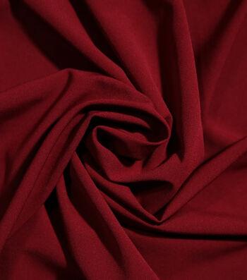 Sportswear Extreme Stretch Nylon Fabric-Cabernet