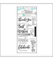 Hampton Art Layering Clear Stamp-Words, , hi-res