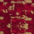 Christmas Cotton Fabric-Red Grunge Metallic