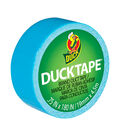 Mini Duck Tape .75\u0022 Wide 15\u0027 Roll-Electric Blue