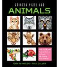 Racehorse Publishing Sticker Pixel Art Kit-Animals