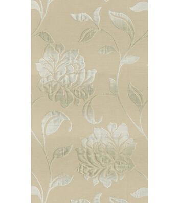 """Lightweight Decor Fabric 54""""-Elite Forli Cream"""