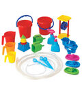 Learning Advantage Water Play Tool Set, 27 Pieces