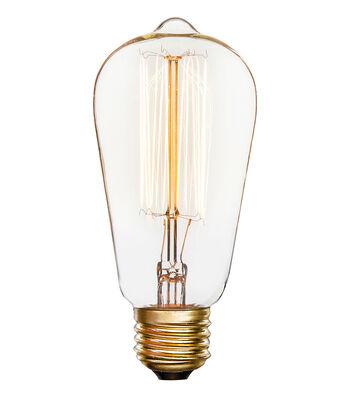 Hudson 43 Edison Bulb Pendant Shape with 13-Stem Filament