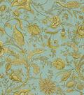 Home Decor 8\u0022x8\u0022 Fabric Swatch-Waverly Fanciful/Crme de Menthe