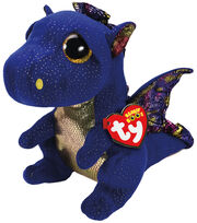 Ty Beanie Boos Medium Saffire Dragon, , hi-res