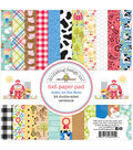 Doodlebug Design Down on the Farm 24 Sheets Double-sided Paper Pad