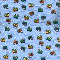 Snuggle Flannel Fabric -Choo Choo