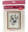 RIOLIS 8.25\u0027\u0027x11.75\u0027\u0027 Counted Cross Stitch Kit-White Briar