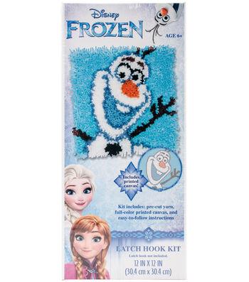 """Disney Latch Hook Kit 12""""X12""""-Olaf-Frozen"""