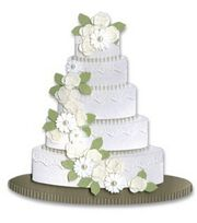 Jolee's By You Stickers-Wedding Cake, , hi-res