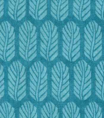 "Home Essentials Decor Fabric 45""-Quill Teal"