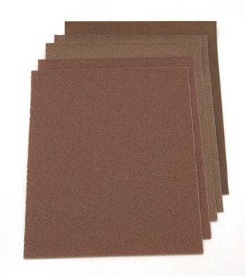 """Darice Assorted Sandpaper 9"""" x11"""" 5/pkg"""
