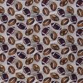 Novelty Cotton Fabric-Vintage Footballs
