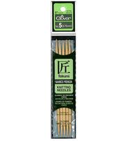 "Takumi Bamboo Double Point Knitting Needles 5"" 5/Pkg-Size 5/3.75mm, , hi-res"