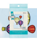 Needle Creations Embroidery Kit 5\u0022X7\u0022-Balloons Stamped On Canvas