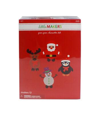 Little Makers Pom Pom Character Kit-8Pk