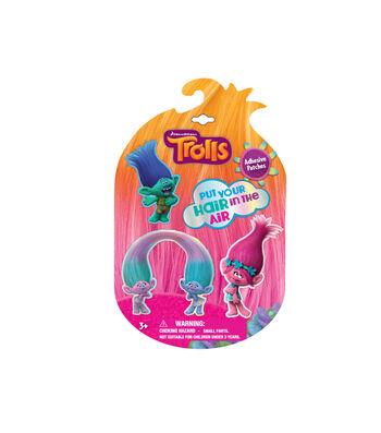 Dreamworks Trolls Pack of 4 Adhesive Patches