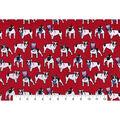 Snuggle Flannel Fabric -Uncle Sam Bulldog