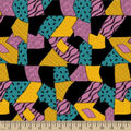 Nightmare Before Christmas Knit Fabric-Sally Patch