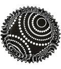 Wilton Nut & Party Cups 24/Pkg-Black Dots 1.25 Ounces