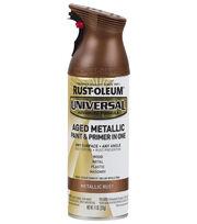 Rust-Oleum Universal Aged Metallic Paint & Primer-Metallic Rust, , hi-res