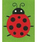 Vervaco iStitch Kits 4 Kids 5\u0027\u0027x6.4\u0027\u0027 Plastic Canvas Kit-Ladybug