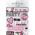 Park Lane Paperie 11 pk Stickers-Girls Party