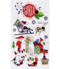Jolee's Boutique Stickers-Santa