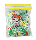 Little Makers Summer 200 Foam Stickers Value Pack-Jungle Animals