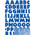 Sticko - Blue Neuland Large Alphabet Stickers