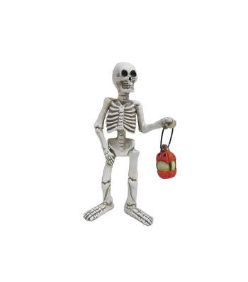 Maker's Halloween Littles Skeleton with Lantern