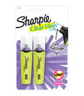 Sanford Sharpie Clear View Yellow Highlighters 2 pcs
