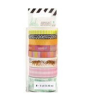 Heidi Swapp Color Fresh 8 pk Decorative Tapes 6 yds-Tiger, , hi-res