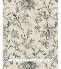 Waverly Upholstery Fabric 54\u0027\u0027-Graphite Felicite