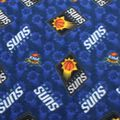 Phoenix Suns Fleece Fabric -Logo Toss