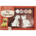 Melissa & Doug Decorate-Your-Own Pet Figurines Craft Kit