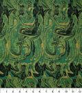 Keepsake Calico Cotton Fabric 43\u0027\u0027-Greens Marble Swirl