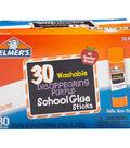 Elmer\u0027s 30 pk 0.24 oz. Disappearing Purple School Glue Sticks