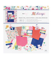 "American Crafts Dear Lizzy 12""x12"" Paper Pad-She's Magic, , hi-res"