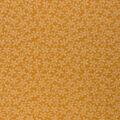 Keepsake Calico Cotton Fabric-Orange Dots & Flowers