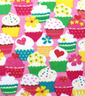 Blizzard Fleece Fabric -Cupcake Madness