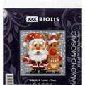 RIOLIS Diamond Mosaic Embroidery Kit 4\u0027\u0027X4\u0027\u0027-Santa Claus