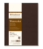 Strathmore Soft Cover Watercolor Journal Book With 48 Pages 7.75''x9.75'', , hi-res